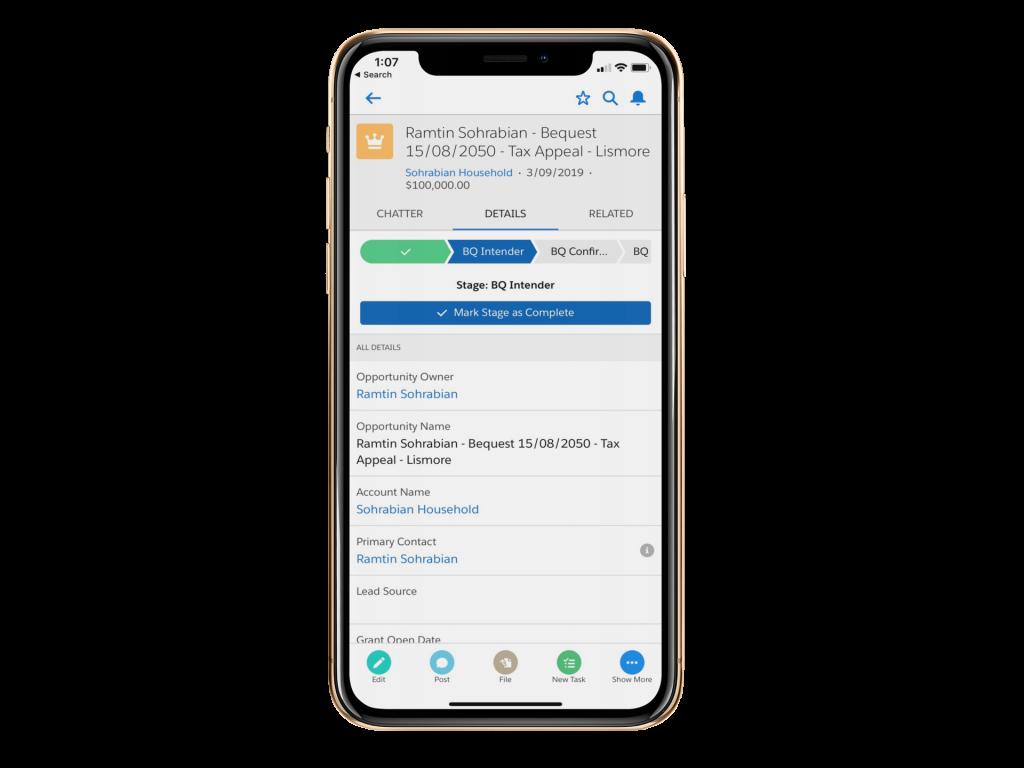 Salesforce App for Nonprofits